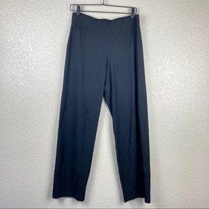 Eileen Fisher Washable Stretch Straight Leg Pants